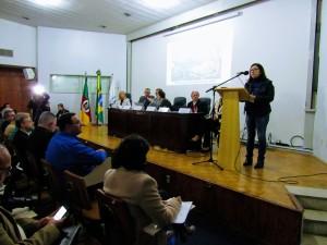 A enfermeira e secretária da ATENS, Salete Rizzatti, reiterou a necessidade da abertura imediata do Regional